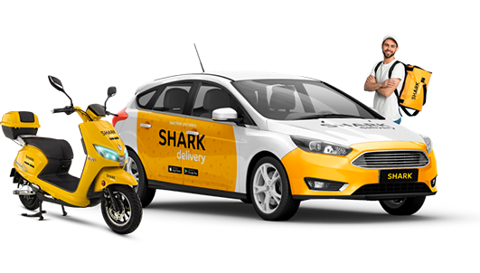 ➔ Courier delivery in Melitopol – SHARK TAXI - Image 1
