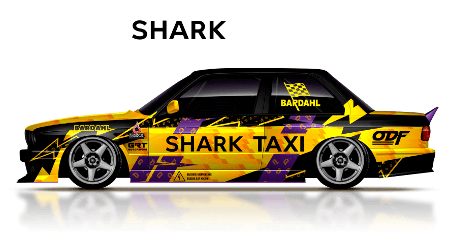SHARK DRIFT – project pilot Musienko Andrey with SHARK team